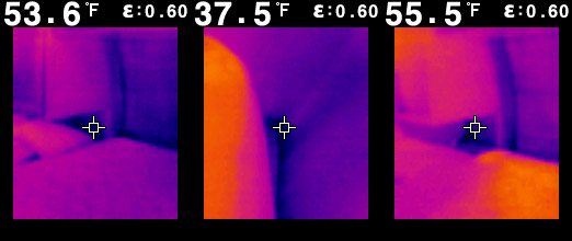 Thermal camera photos