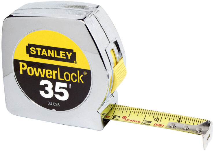 Photo of the tape measure