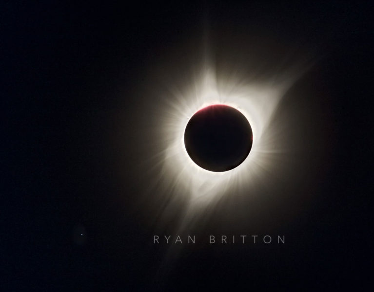 Corona - Photo of the sun's corona during a total solar eclipse