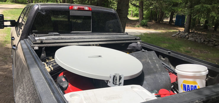 Photo of the dish in the truck bed